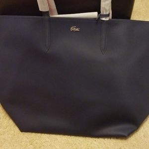Lacoste reversible tote
